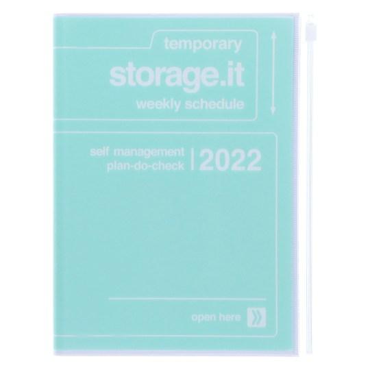 Agenda 2021-2022 Mark's Japan Storage it A5 Menthe – sep21 à déc22
