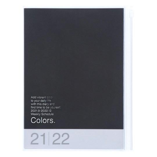 Agenda 2021-2022 Mark's Japan Colors A5 Noir – sep21 à déc22