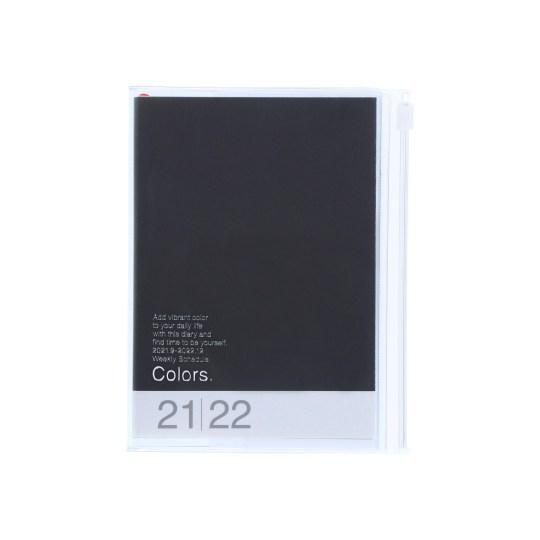 Agenda 2021-2022 Mark's Japan Colors A6 Noir – sep21 à déc22