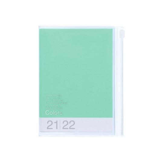 Agenda 2021-2022 Mark's Japan Colors A6 Vert Menthe – sep21 à déc22