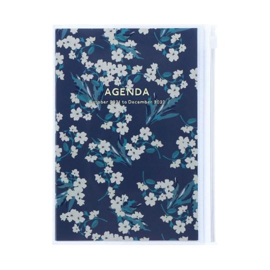 Agenda 2021-2022 Mark's Japan Flower Pattern B6 Ivoire - oct21 à jan23