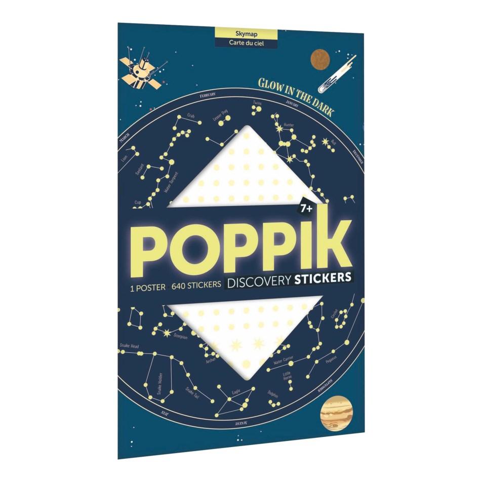 Poster à sticker Carte du Ciel par POPPIK