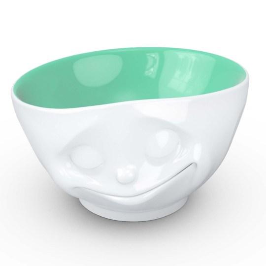 Bol humeur du matin Happy Tassen – Intérieur Vert Jade