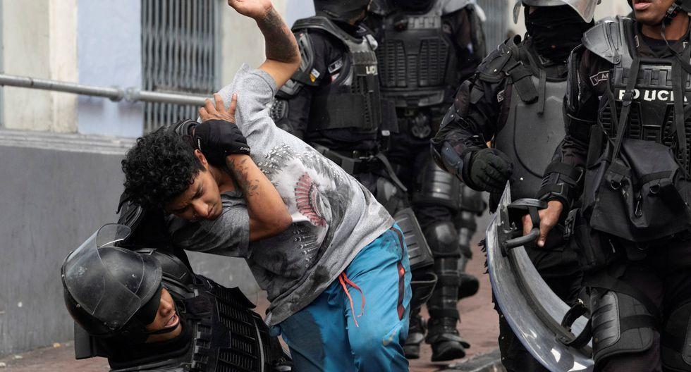 Detenidos Ecuador