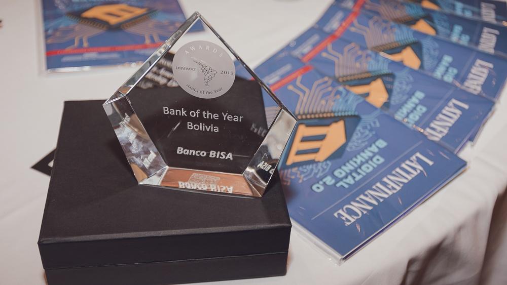"""Resultado de imagen para bisa """"bank of the year 2019"""