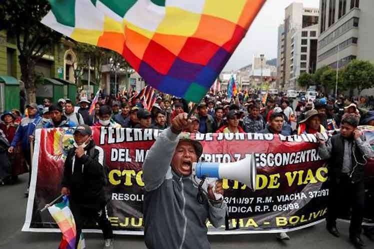 Bolivia-Protesta