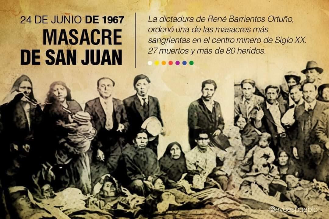 Masacre de San Juan, Bolivia