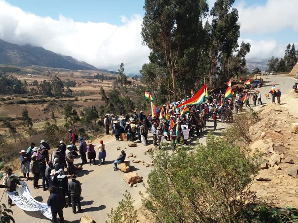 Bloqueos Bolivia