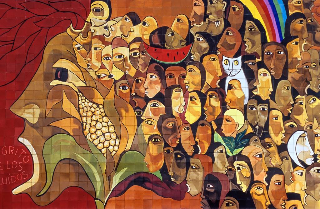 Guayasamin_mural-Ecuador