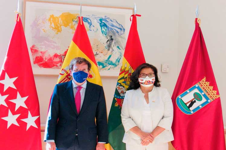 Bolivia-España