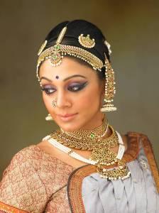 Shobhana, une célèbre actrice et danseuse de bharat Natyam