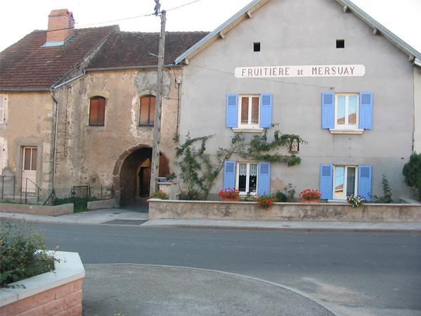 Mersuay Commune De Haute Sane 70 En Franche Comt