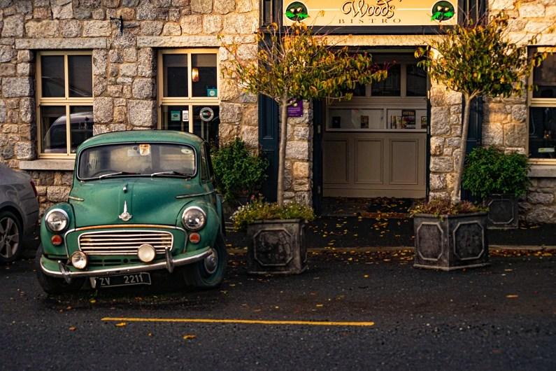 Roundwood restaurant voiture