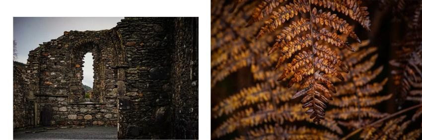 Glendalough cathédrale ruines
