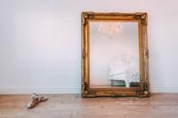 Maddelena Large Gold Mirror - La Maison Chic