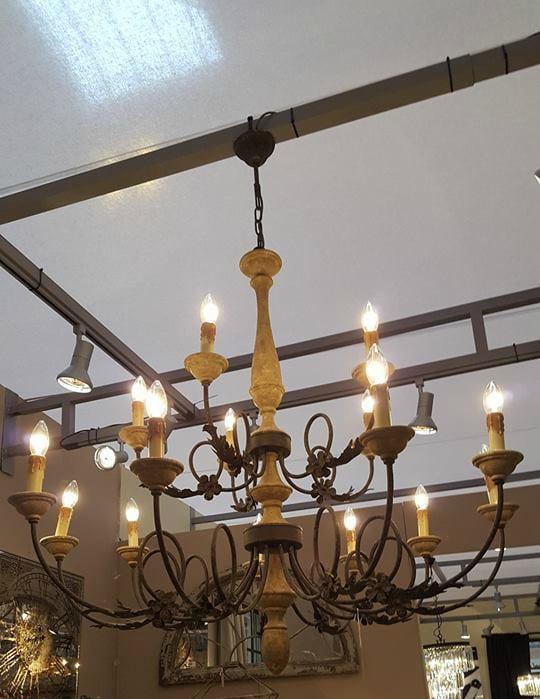 Rustic Extra Large Chandelier Furniture La Maison Chic