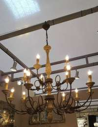 Rustic Extra Large Chandelier Furniture - La Maison Chic ...