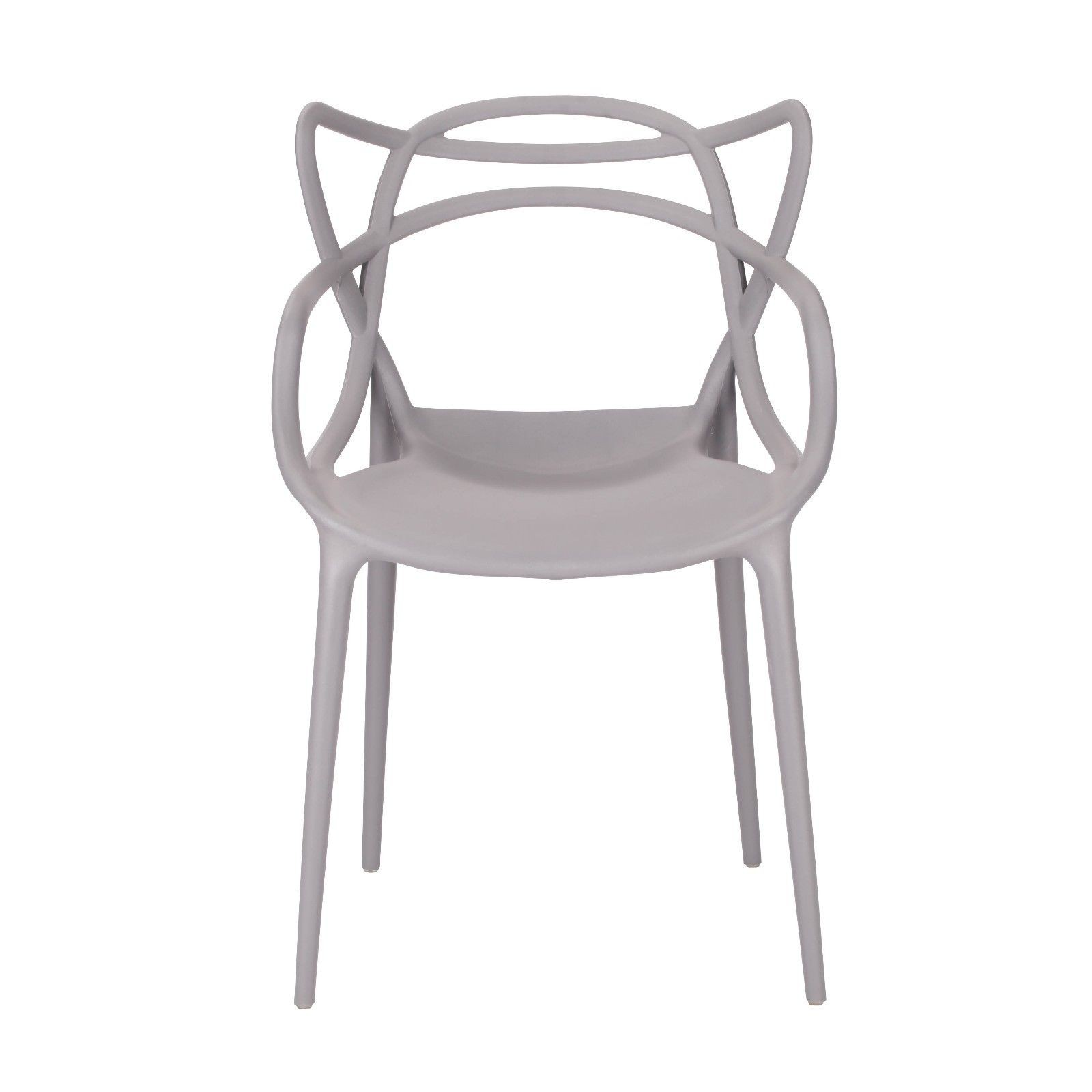 Moulded Grey Dining Chair Furniture