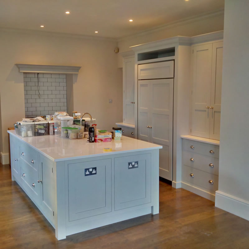 Tom Howley Painted Kitchen