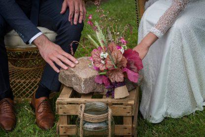 location déco mariage caisse bois