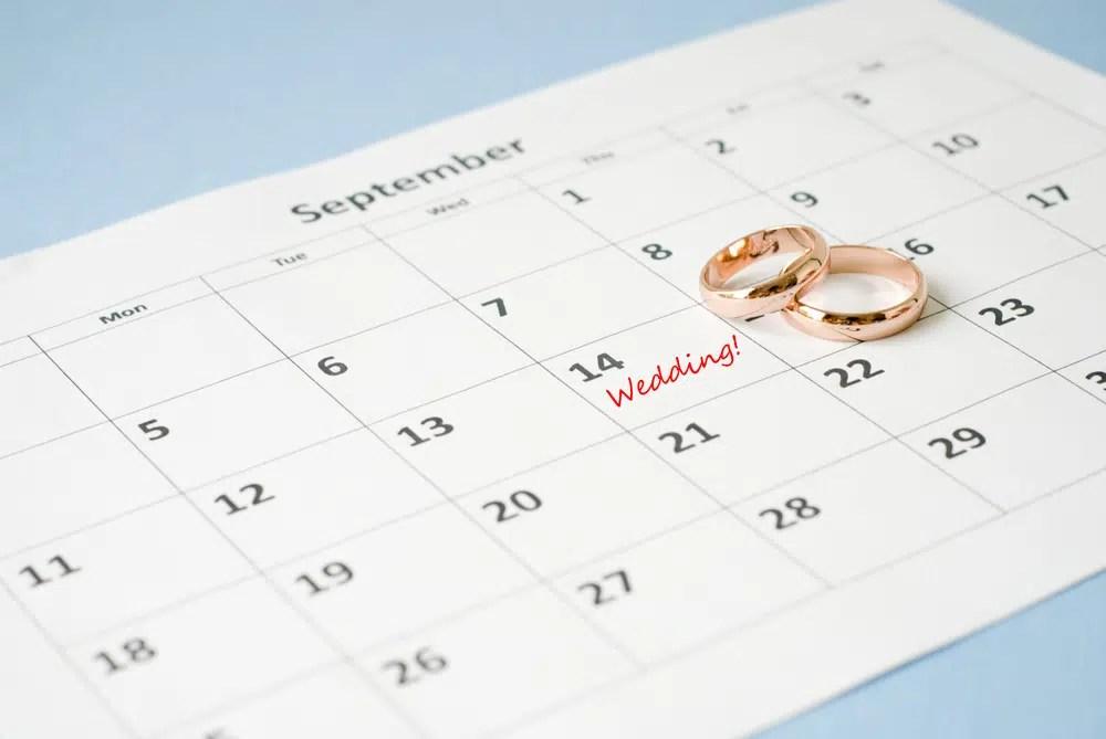 mariage heureux comment choisir la date ideale