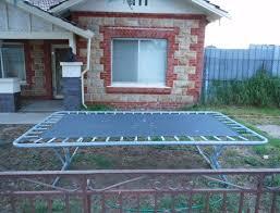a square trampoline