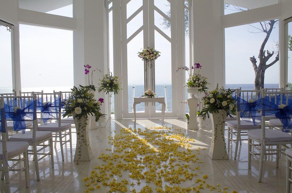 white-colored venue