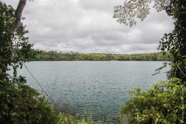 Eacham lake, Yungaburra australie