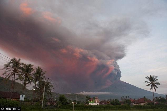 Bali: torna a fare paura vulcano Agung