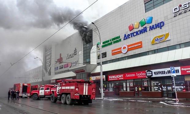 Russia, decine di morti per l'incendio in un centro commerciale a Kemerovo