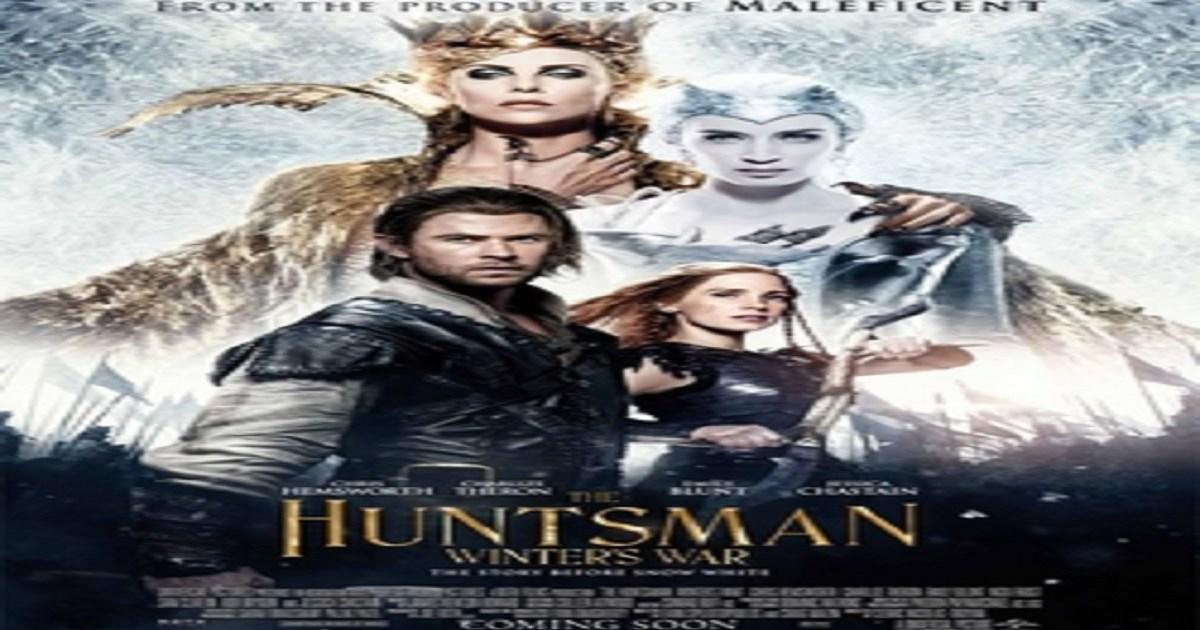 film il cacciatore e la regina di ghiaccio