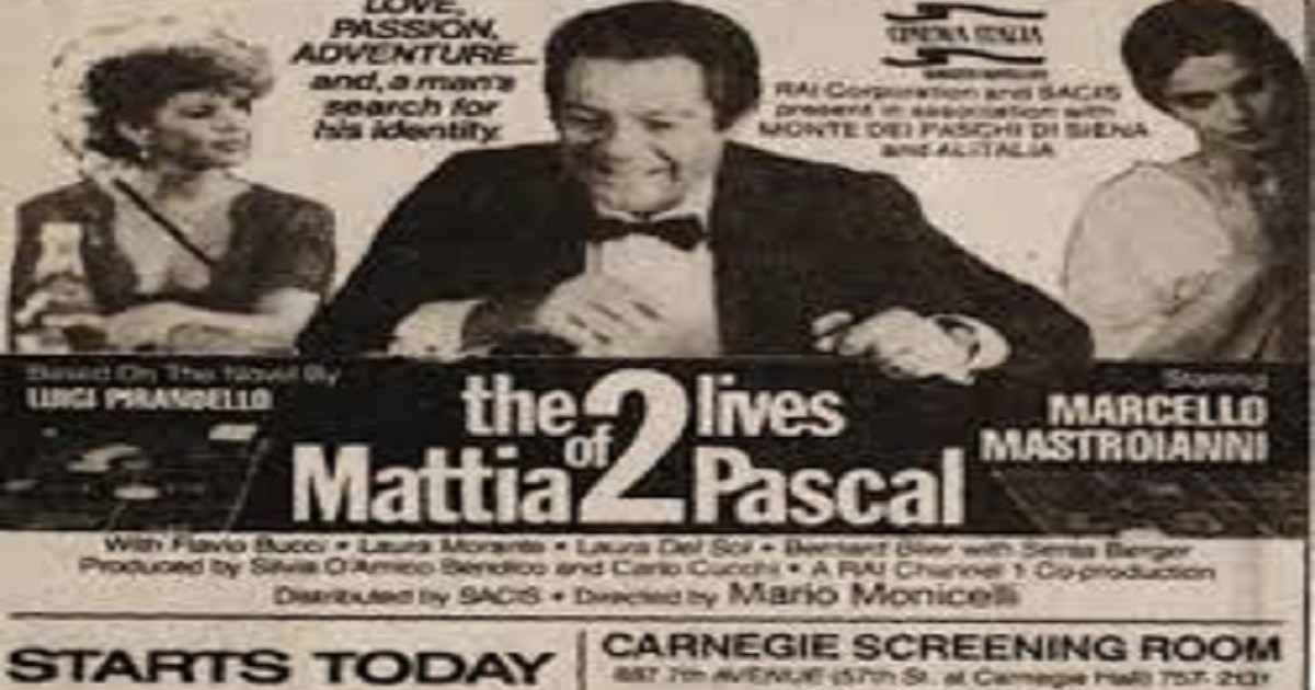 film mattia pascal