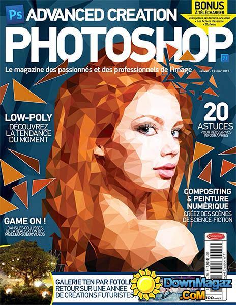 Magazine Advanced Creation Photoshop - Janvier/Février 2015