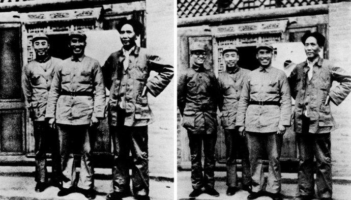 Mao Zedong qui fait disparaître un de ses hommes
