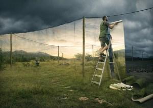 The cover par Erick Johansson sur le blog La Retouche photo.