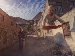 The flying carpet par Adrian Sommeling sur le blog La Retouche photo