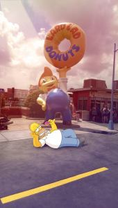 InstaCartoon_Homer havin a break _crédit photo Instagram Alexandre De Vries, Tpex85