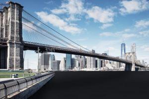 new york, pont de Brooklyn, copyright Fotolia