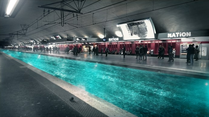 Missing a hot bath @ Nation, France. Copyright Alexandre De Vries
