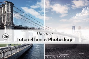 The race, tutoriel bonus Photoshop sur le blog La Retouche photo