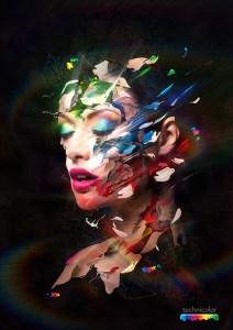Technicolors par Alberto Seveso