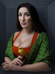 Alexei Sovertkov, Classisism_ Young woman 2
