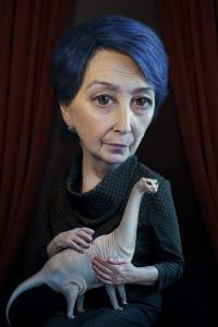 Alexei Sovertkov, Portraituning_Old woman 2