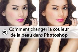 Comment changer la couleur de la peau dans photoshop, sur le blog La Retouche photo.