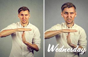 Wednesday week portrait quotes par le retoucheur photo Alexandre De Vries