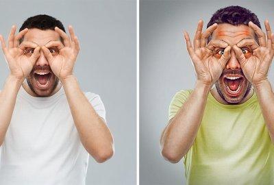 Gawky le farceur, projet 7 expressive brothers sur le blog La retouche photo