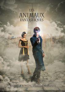 Affiche film Les Animaux Fantastiques, par Alexandre De Vries sur le blog La retouche photo