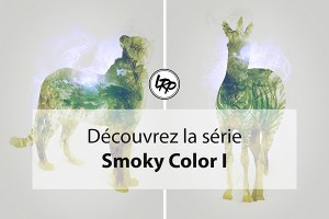 Double exposition, test série Smoky color I, sur le blog La Retouche photo.