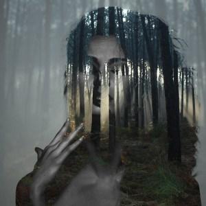 Beauty silence 6/10, série en double exposition par Alexandre De Vries