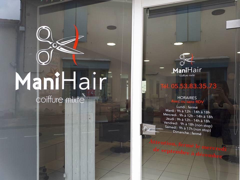 ManiHair salon de coiffure vous informe  La Sauvetat du Dropt